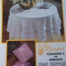 Vintage Galaxia 3 Stalite Patterns Crochet Round Tablecloth Knitting Pillows