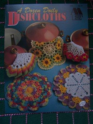 New A Dozen Doily Dishcloths Annie's Attic Crochet Patterns 350