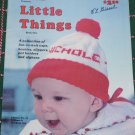1970's Vintage Knitting Patterns Book 1 Little Things Baby Elf & Pixie Booties