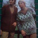 Mens Vintage 1970s Knitting Patterns Book Cardigans Vests Pullovers Jackets Hats Ski
