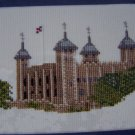New Tower of London Cross Stitch Embroidery Kit Elizabeth Stuart Design London 9402