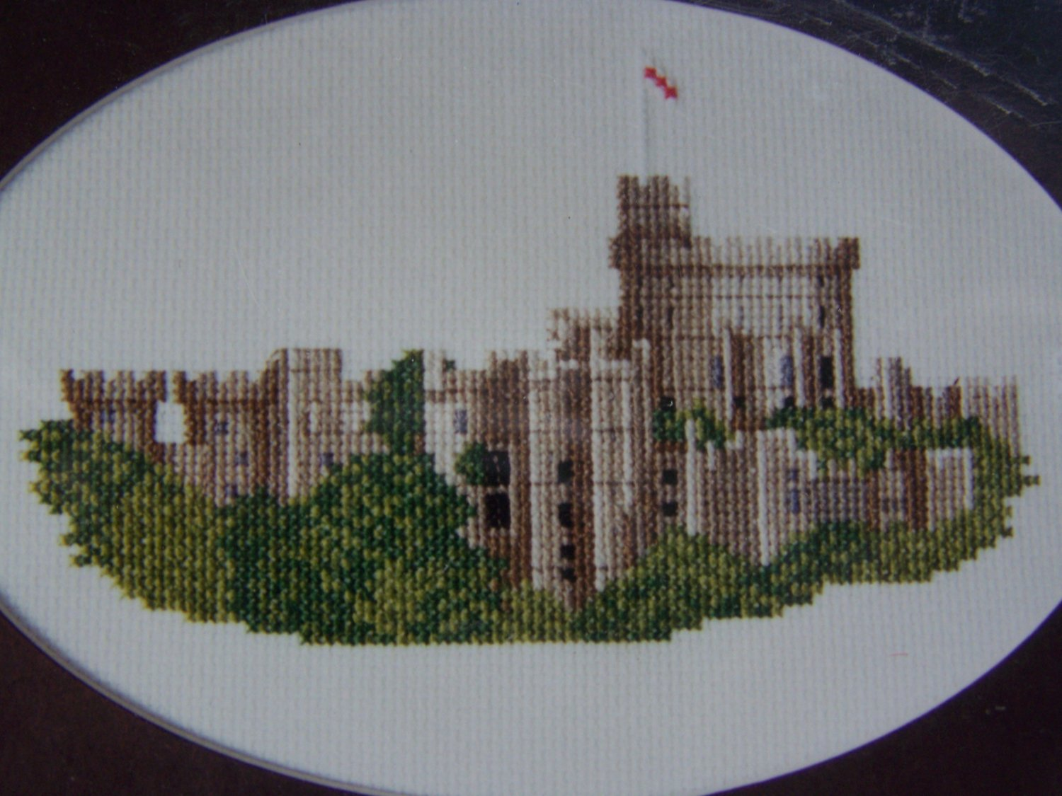 New Windsor Castle Elizabeth Stuart Designs Cross Stitch Embroidery Craft Kit 9401