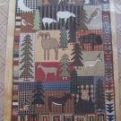 New Applique Quilt Pattern Vacation Homespun Charm Country Cabin Lodge Decor 404