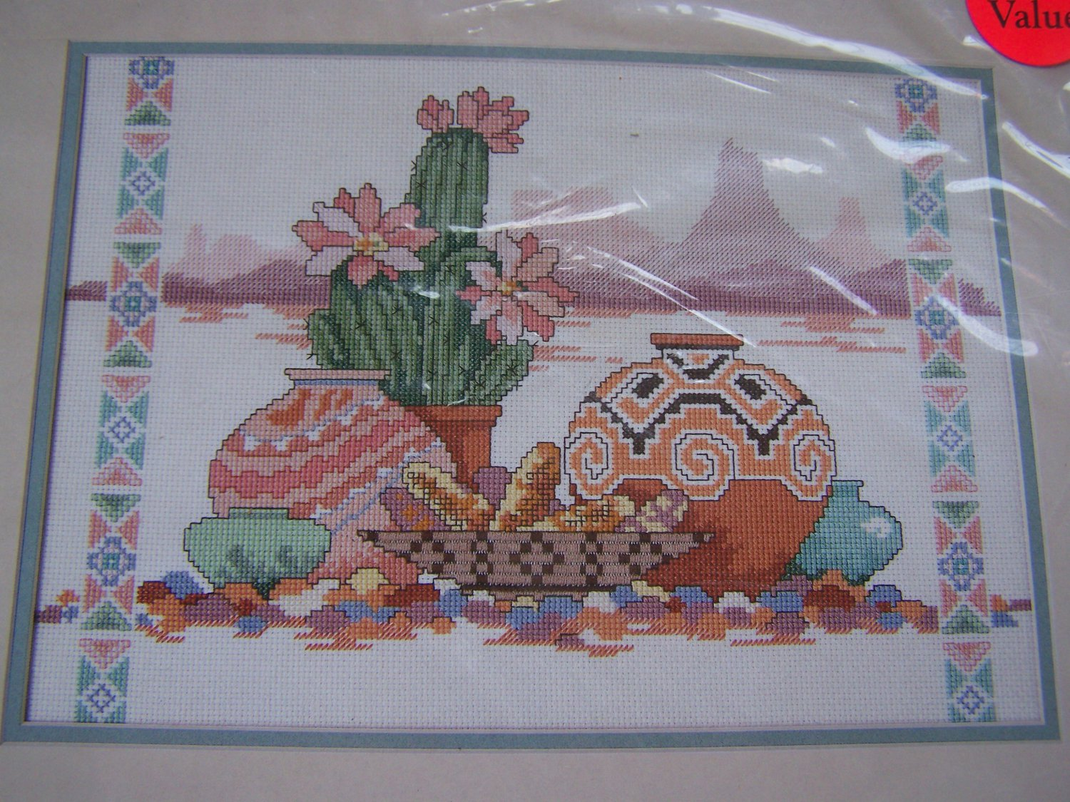 A Taste Of The Southwest Counted Cross Stitch Craft Kit Dimensions 3687