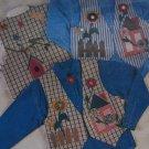 New Sewing Pattern Vest & Appliques Decorate Your own vest IJ314