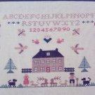Vintage Jane Greenoff Cross Stitch Embroidery Inglestone Collection #2 Little House