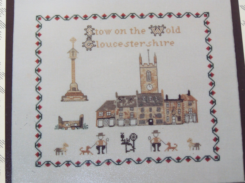 Vintage Inglestone Cross Stitch Embroidery Pattern Design 5 Jane Greenoff England