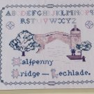 New Cross Stitch Pattern 14 Inglestone Collection England Lechlade Bridge Greenoff