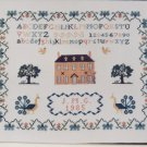 Vintage Inglestone Cross Stitch Sampler Pattern # 16 Jane Greenoff