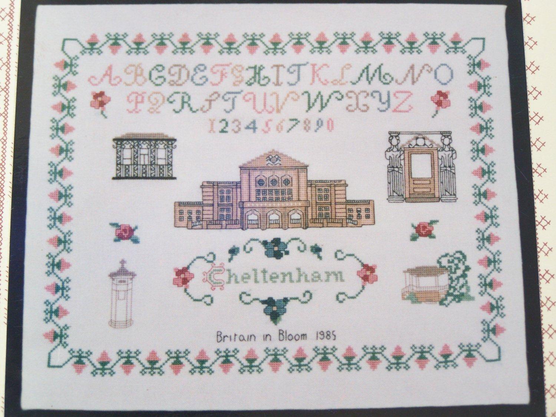 Vintage Inglestone Collection Cross Stitch Pattern  # 40 Cheltenham England