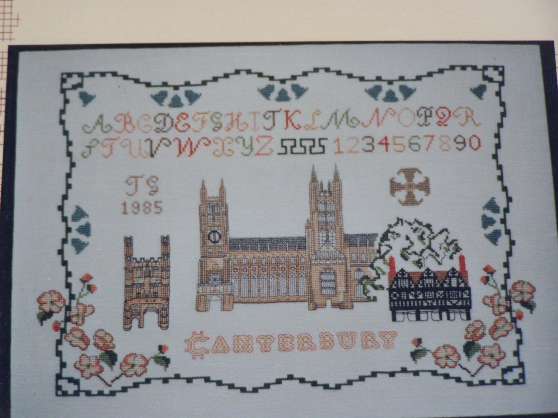New Inglestone Counted Cross Stitch Chart # 20 Canterbury Pattern