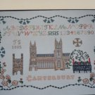New Inglestone Counted Cross Stitch Chart # 20 Canterbury Pattern