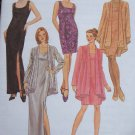 Uncut Womens Dress & Sheer Jacket Sewing Pattern 9678 Plus Size 40 42 44 or 22 W 24W 26W
