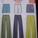 Easy Misses Low Rise Pants & Skirts 8 10 12 14 16 18 New Look Sewing Pattern 6083