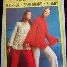 1970's Vintage Knitting & Crochet Hippie Sweater Patterns for Women & Girls 456