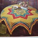 PDF File Crochet Pattern Vintage Fiesta Cloth Tablecloth Any Size 2-2