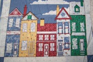 New Georgia J Bonesteel House Designs Cotton Fabric Pillow Panel