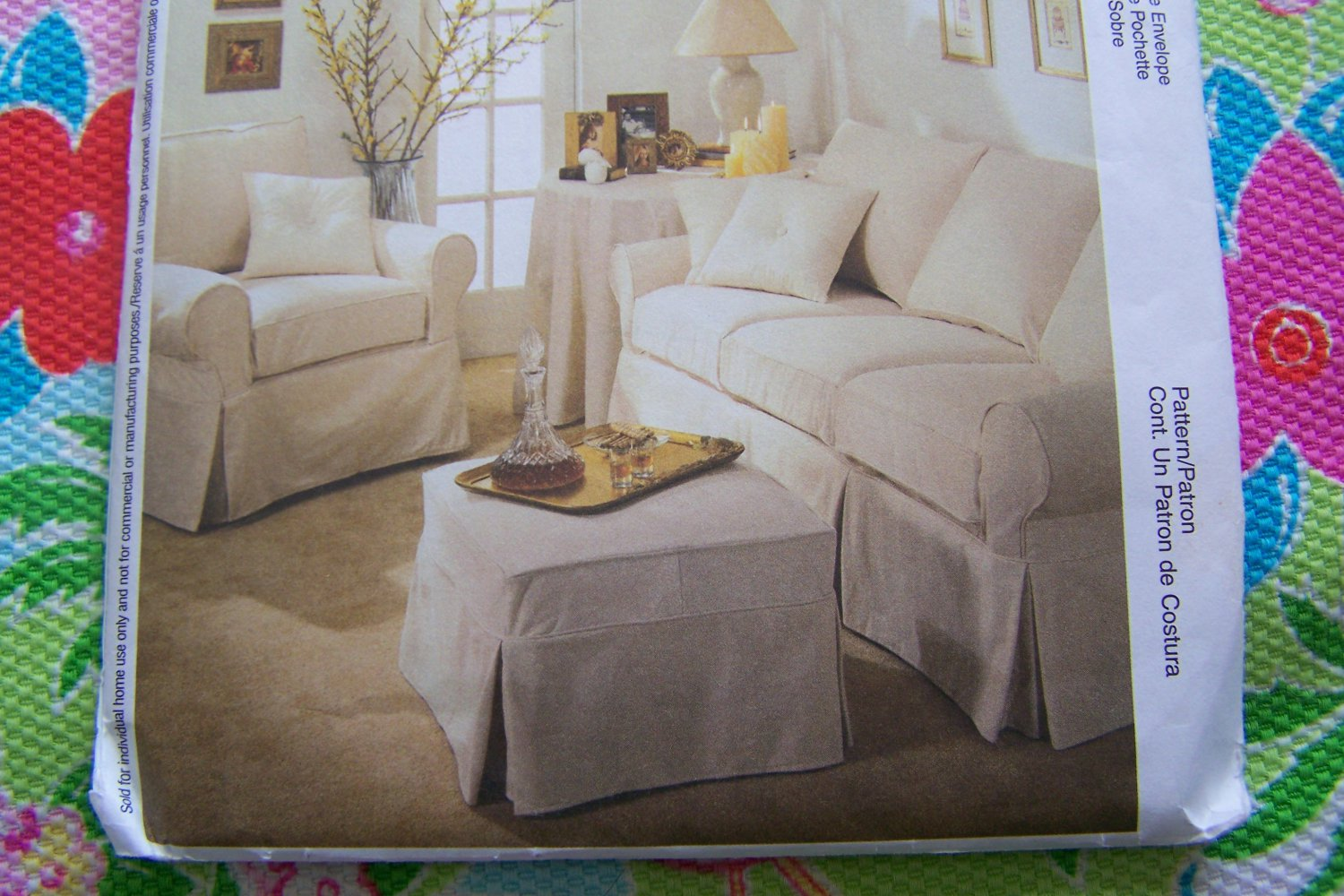 Mccall S Sewing Pattern 3278 How To Make Sofa Couch Chair
