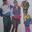 Uncut Sewing Pattern 6404 Mens Misses Teens Athletic Active Wear Suits Large 38 40