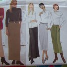 Uncut Misses Skirts Sewing Pattern 5668 Bias A Line Straight 14 16 18