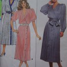 1980s Vintage Pullover Dress Sewing Pattern Butterick 4699 Free USA S&H