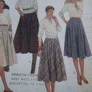 Uncut Young Jr Teen Vintage Skirts Sewing Pattern 7841 FREE USA S&H