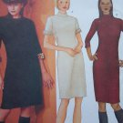 Free USA S&H Misses 6 8 10 Slim Fit Dress Fast & Easy Butterick Sewing Pattern 6703