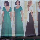 Uncut Misses Elegant Evening Gown or Cocktail Dress 12 14 16 Sewing Pattern 4776