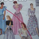 Uncut Vintage Wedding Gown Bridesmaids Dress Mullet Skirt HI Low or Evening Gown Sewing Pattern 5253