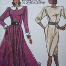 Misses Vintage Slim or Circle Skirt DRESS French Cuffs 8 10 12 14 Sewing Pattern 8170