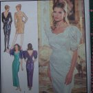 Uncut Misses 6 - 16  Evening Gown Cocktail Dress Sewing Pattern Style 1993