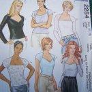 Misses Large 16 18 Easy Raglan Sleeve Knit Tops Uncut Sewing Pattern 2254