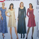 Misses 12 14 16 Easy 2 Hour Dress Princess Seams Back Ties Sewing Pattern 9456