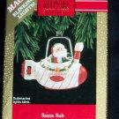 New Hallmark Keepsake Ornament Santa Sub 1992 Magic Blinking Lights Submarine