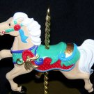 "New in Box Hallmark Christmas Carousel Horse 1989 ""Ginger"" 4th in Series"