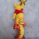 New Hallmark Keepsake Winnie The Pooh & Tigger Christmas Ornament 1995
