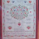 New Vintage Current Family Tree Cross Stitch Embroidery Craft Kit