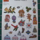 24 Vintage Christmas Cross Stitch Patterns Ornaments Gift Ties