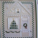 BH&G Christmas House Cross Stitch Pattern Holiday Decorated Home
