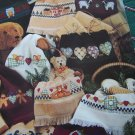 Leisure Arts 2524 Country Christmas Fingertips Cross Stitch Towel Tablecloth Borders