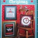 12 Vintage Retro Christmas Cross Stitch Sampler Patterns Stoney Creek Free USA S&H