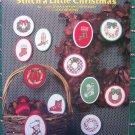 12 Vintage Cross Stitch Christmas Ornament Patterns Cowboy & Ski Boot Stockings Wreaths