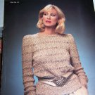 Vintage Finn Time by Eila 4 Womens Sweater Knitting Patterns # 18 Sz 4 6 8 10 12 14 16 18 20 22
