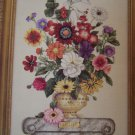 Just Cross Stitch Pattern August Flower of the Month Chart