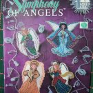 8 Annie's Attic Symphony of Angels Christmas Tree Ornaments Plastic Canvas Patterns