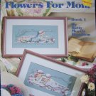 Flowers For Mom & Afternoon Tea Cross Stitch Patterns Vintage Leisure Arts 669