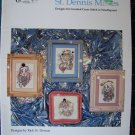 7 Mime Patterns Counted Cross Stitch Needlepoint Charts