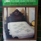 Mountain Mist Old Fashioned Rose Classic Quilt Pattern 71 x 89 Bedspread