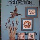 Vintage Counted Thread Cross Stitch & Needlepoint Patterns Mallard Ducks Ducklings