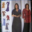 Uncut Simplicity Sewing Pattern 2544 Khaliah Ali Day & Evening Dresses Tops 10 12 14 16 18